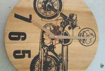 Timpakul Wood / Produksi Kayu Bekas Handmade Jadi Jam Dinding