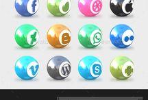 Iconos / Iconos de Redes Sociales