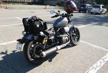 Motorcycle / レンタルで乗ったバイク