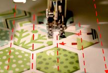 Quilt Hexagon Sewing