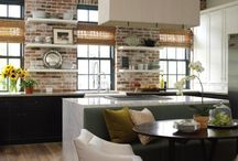 Kitchens---Gathering space / by Jaemy Halbach