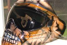 Paintball mask ideas