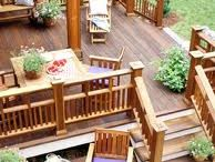 back yard decks
