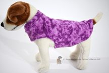 Small Fleece Dog Coats / A warm fleece coat for your Small dog or puppy!