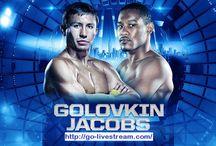 Golovkin vs Jacobs Live Stream