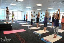 Bikram Yoga in Action