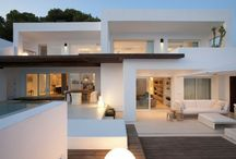 Exterior --> houses and buildings