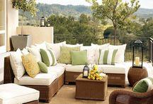outdoor deck/house