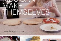 cooking with kids / meals you can make with kids, cooking with kids, activities to do with kids in the kitchen