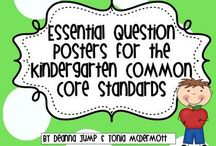 Kindergarten Curriculum / This board includes ideas, activities, and resources for a kindergarten curriculum.