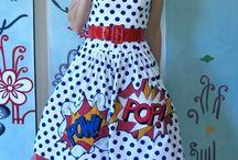 pop art disfraz