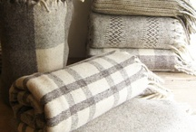 Linens and Pillows / Blankets, pillows and other accessories that complement home decor style