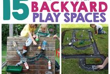 Pre-school Outside play