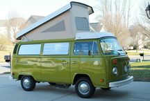 VW Bus by Volkswagen / A collection of one of my dream cars: the Volkswagen Bus by VW