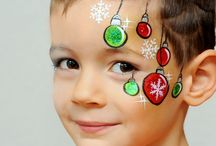 maquillage enfant noël