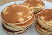 Pancakes mit yougurt