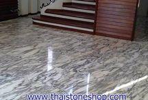 หินอ่อน อราเบกาโต (Arabescato) ขนาด 60x60 cm. / หินอ่อน อราเบกาโต (Arabescato) ขนาด 60x60 cm.  พร้อมติดตั้ง ม.ปัญญา ซ.พัฒนาการ 30