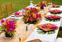 Mohana Theme Table Set Up