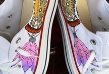 Malované boty - co se mi líbí
