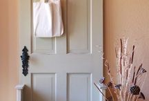 House: coat closet makeover / by Amy Yates