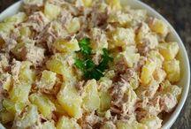 Salade pomme de t. thons