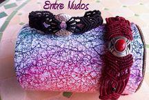Pulseras de macramé/  Macrame Bracelets