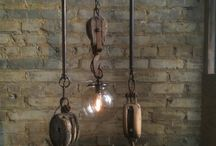 At Home: Lighting / by Junkin' J
