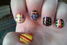 my nails / Different nail designs I've done.