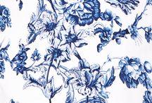 Floral Print | Blue / Floral Print | Blue
