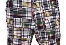 Men's Shorts / Celebrate warm weather with a pair of seersucker or madras shorts. Our selection of preppy shorts also includes embroidered, twill, lobster, angler, and linen shorts.  / by Country Club Prep