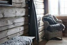 Hytte / Hytta, inspirasjon til hytta på Veggli