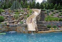 slide in my pool