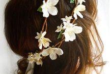 corona de flores / hermoso