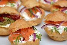 petits choux saumon
