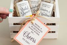 Wedding bridal party stuff