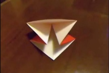 """...and Origami for all - origami tutorials by danbergam on YouTube / The thumbnails of the videos included in the tutorials series """"...and Origami for all"""" on YouTube; slow and easy, from an origami learner for all the origami learners!"""