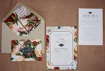 01_Vintage wedding invitations