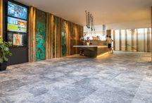 Böden und Stiegen - floors and steps / #Innenbereich #indoor #Fliesenbau #Design #Einrichtung #Holzfliesen #Großformate #Natursteinoptik