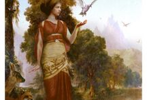 Demeter / Goddess who asks us to save the Bees, Mother of Persephone