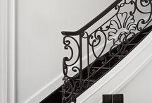 Staircase/skirting/cornice