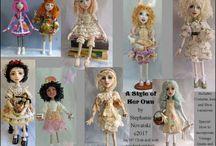 Stephanie Novatski - Art Doll Sewing Patterns