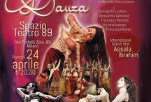 Mangia Prega Danza / Spettacolo di Danza Orientale, Tribal Fusion Bellydance e Danze Gypsy