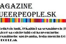 Magazín Queerpeople Slovensko / Spoločnosť v ktorej žijeme si dáva za cieľ svoje plány, teda plány vyvolených a podľa toho sa aj v krajine žije, ale mnohé komunity, či menšiny v dnešnej spoločnosti nemôže byť hrdá na rozvoj či iné kvalitatívne hodnoty našej spoločnosti, prečo?, lebo nikto to nechce priamočiaro riešiť, otvorenou otázkou verejnosti, žiadna informovanosť žiaľ nie je, ktorá by viedla k tomu byť si nápomocný v tom čo je normálne pre náš život...