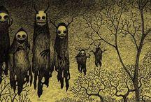 Illustrazioni horror