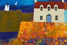 Coastal towns and lighthouses