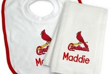 Personalized Baby Gifts For St Louis Cardinals Fans / Personalized Kids Gifts For Fans Of The St Louis Cardinals Major League Baseball Team.
