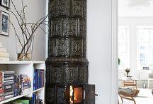 svenska kakelugnar,swedish fireplace