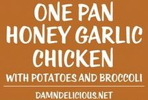 one pan chicken dishes