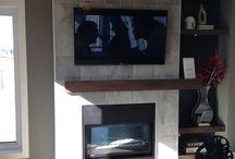 2 Heather Street / Show home featuring Montigo L38DFNI fireplace