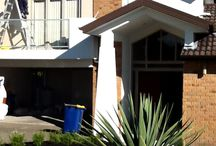 Exterior Painting / Exterior painting of a home in Sunnynook